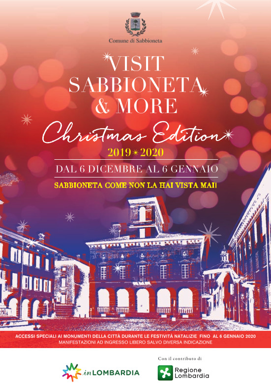 Visit Sabbioneta & More Christmas Edition 2019 - 2020